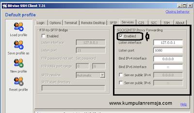 Setting Sock/HTTP Proxy Forwading