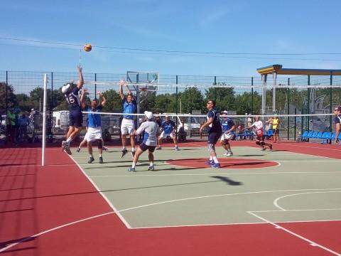 На Тетіївщині проходить волейбольний турнір