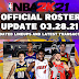 NBA 2K21 OFFICIAL ROSTER UPDATE 03.28.21 LATEST TRANSACTIONS+LINEUPS UPDATES