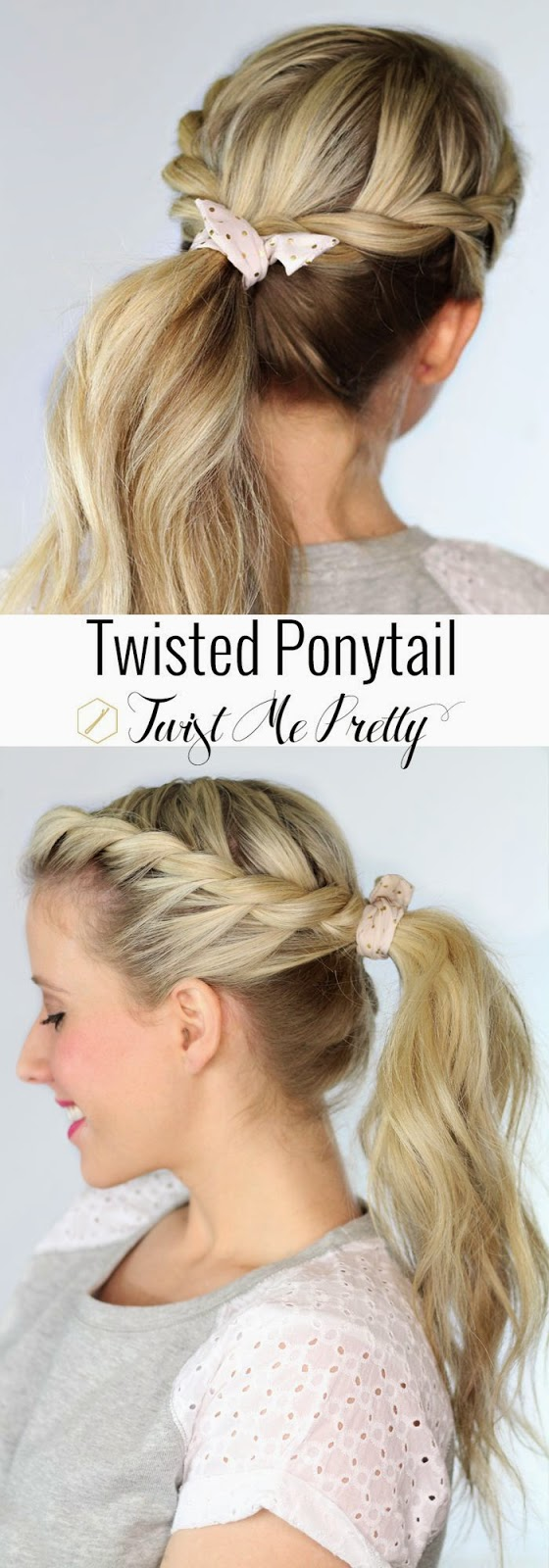 TOP 5 FASHIONABLE PONYTAIL TUTORIALS