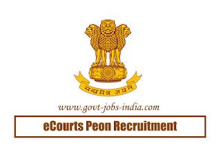 eCourts Peon Recruitment 2020