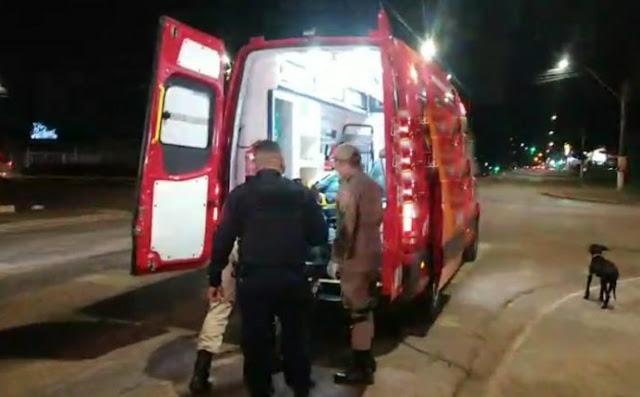 Homem tenta fugir de desafeto e é atingido por ônibus na Jorge Teixeira