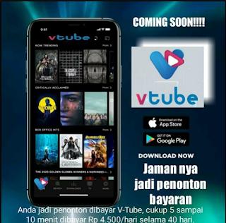 Update Mau Nonton Video Dibayar Download Aplikasi Vtube Dan Cara Daftar Vtube Dunia Sejarah