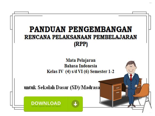 Contoh RPP Berkarakter KTSP SD/MI Kelas 4 5 6