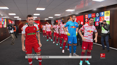 PES 2021 New Stadium 1. & 2. Bundesliga Tunnel Pack by Eduardo lleite