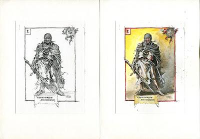Fantasy Pirate Portraits I. – Bretonnian Buccaneer