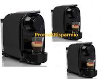 Logo Moreno Contest: vinci gratis 3 macchine da caffè Pipita con fornitura di 100 capsule