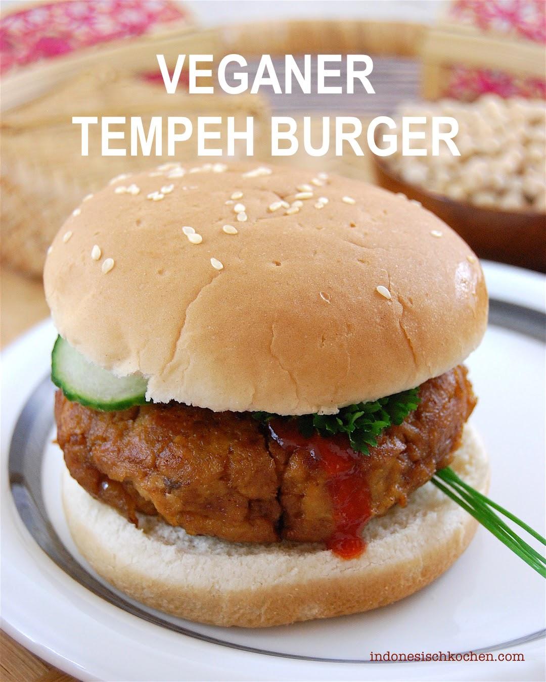 Rezept Tempeh Burger vegan