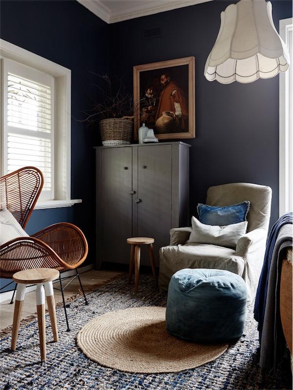 Casa eduardiana decorada en tonos neutros chicanddeco