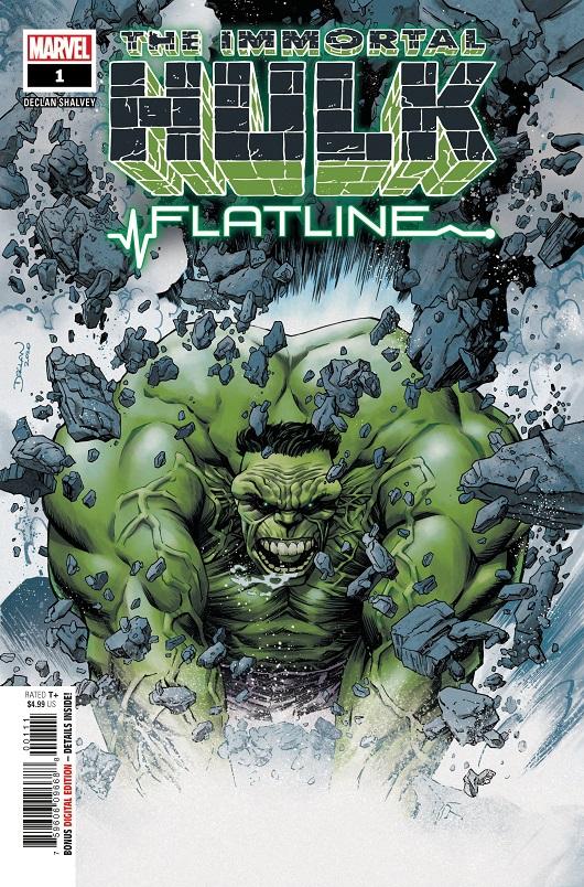 Cover of Immortal Hulk Flatline #1