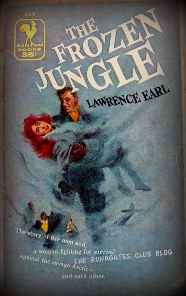 THE FROZEN JUNGLE - Lawrence Earl, Bantam paperback cover