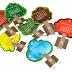 Idea de calendario para ilustrar la importancia de plantar árboles.