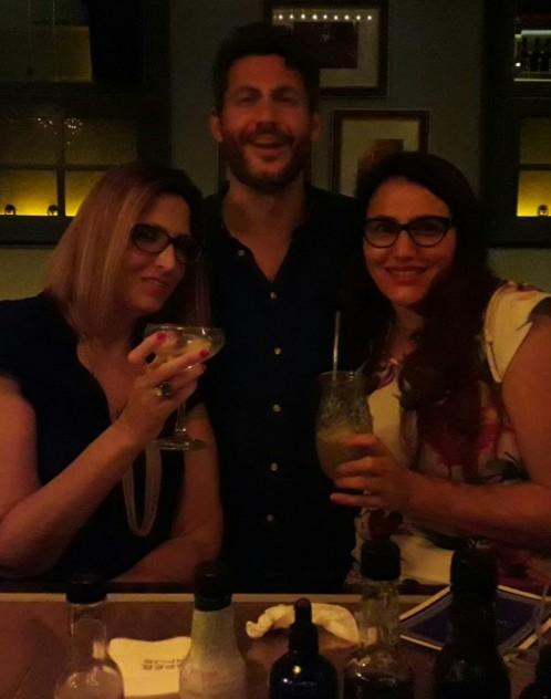 Israel by Hadarling  Mulberry Project - pop up cocktail bar at Jasper Johns Bar Tel Aviv