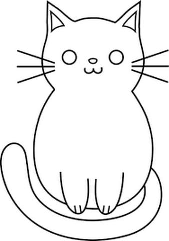 Gambar Kucing Lucu Mudah