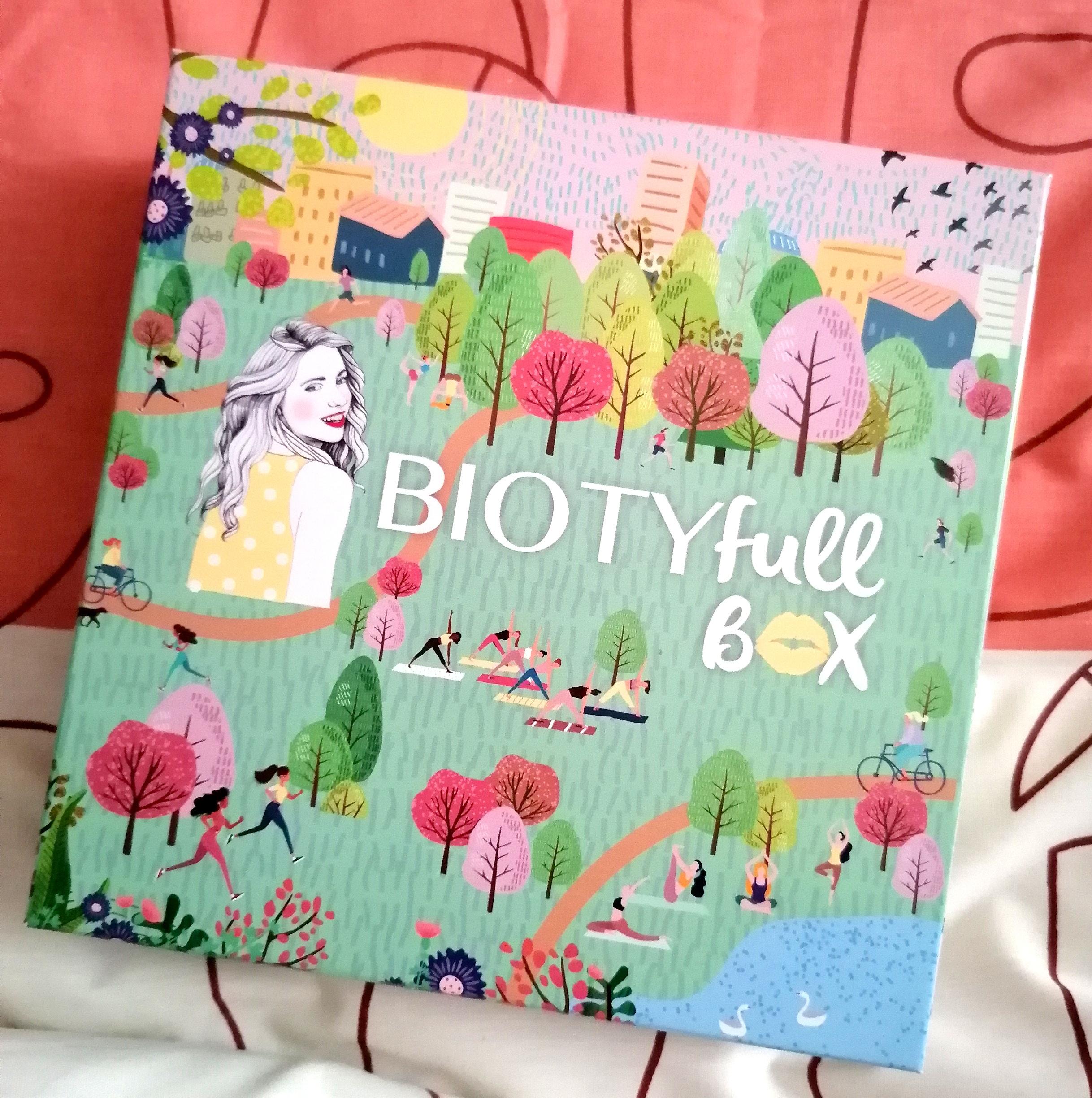 Biotyfull Box Mars (2021) : La sportive réconfortante! 💪🏽💆🏽♀️