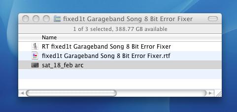 fixed1t Music Software: Fixing or Repairing the Garageband 8