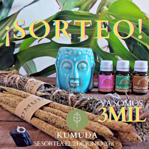 Sorteo Kumuda en Instagram