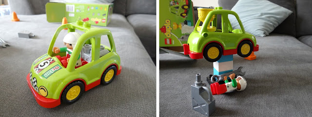 LEGO Duplo vehicles, LEGO cars, rally car toy