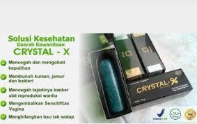 produk nasa untuk kesehatan crystall x