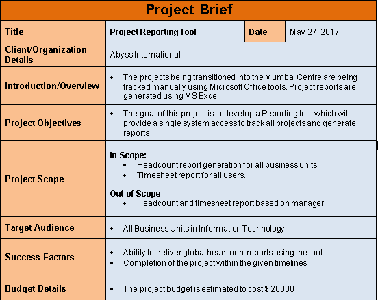 Project brief template word file download free project management project brief template maxwellsz
