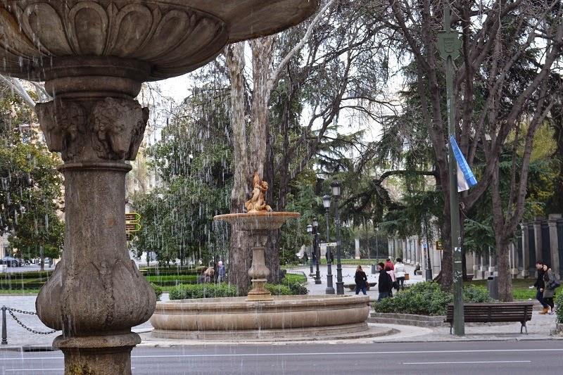 Madrid, espagne, paseo del prado