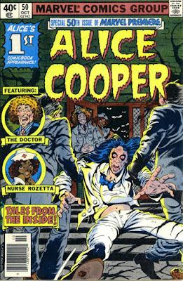 Marvel Premiere #50, Alice Cooper