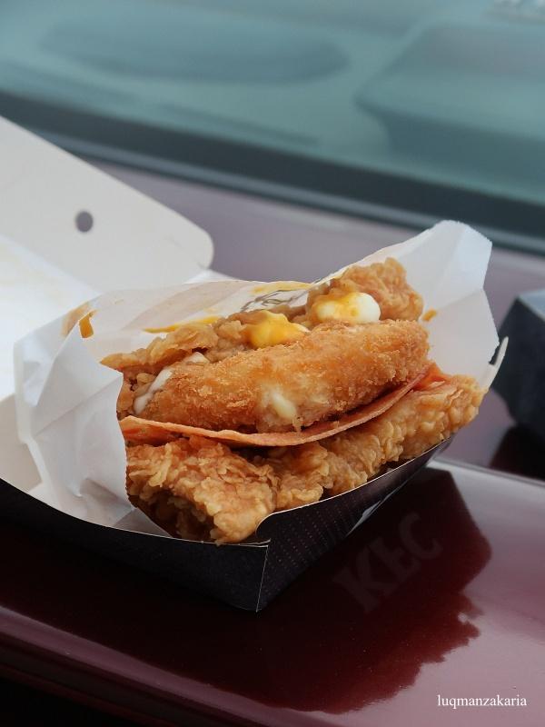 KFC Cheezilla Double Down