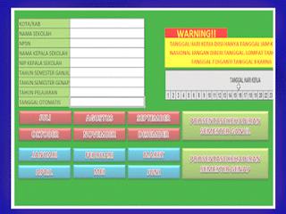 Master Aplikasi Absensi Guru Digital Versi Excel
