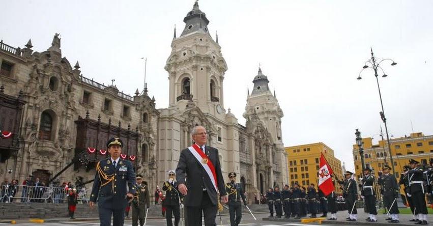 Presidente Kuczynski tomará juramento a nuevo Gabinete hoy domingo a las 17:00 horas, en Palacio de Gobierno