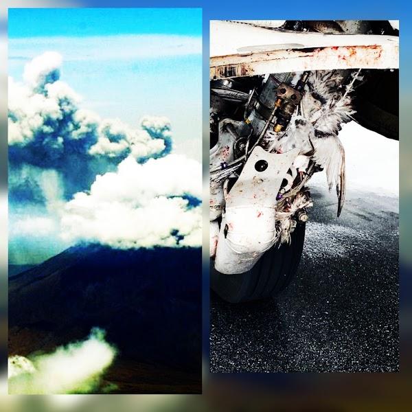 Inminente erupcion del volcan ol doinyo lengai de Tanzania.