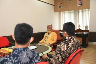 Audiensi Kepala Perwakilan BPK RI Provinsi Kalimantan Utara
