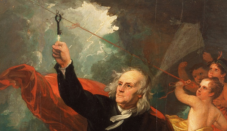 Benjamin Franklin, Orang Pertama yang Mempelajari Petir dan Kilat