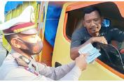 Viral Polisi Sragen Tolak Suap Sopir Truk, Begini Penampakan Yang Terekam Camera Video