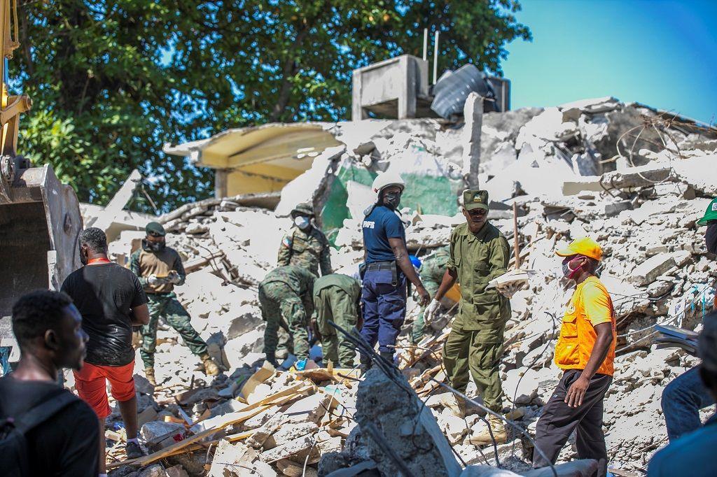 Cerita Menyayat Hati Korban Gereja Runtuh Saat Gempa di Haiti