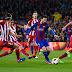 El Barça - Atlético en 5 tweets