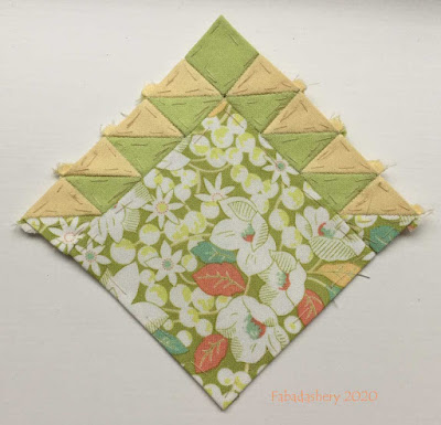 The Farmer's Wife Sampler Quilt (20's) Block 88 Star of Hope