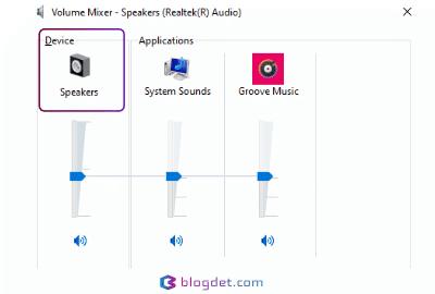 pilih speaker