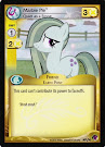 My Little Pony Marble Pie, Quiet as a Stone Marks in Time CCG Card