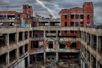 packard plant detroit urbex urban decay