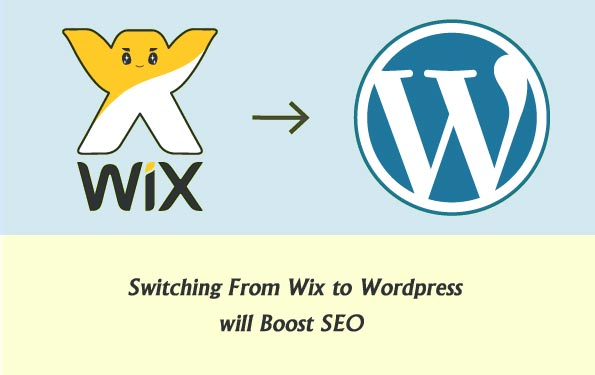Wix to Wordpress Migration and Design Conversion