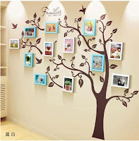 Decora tu pared con fotos en árboles