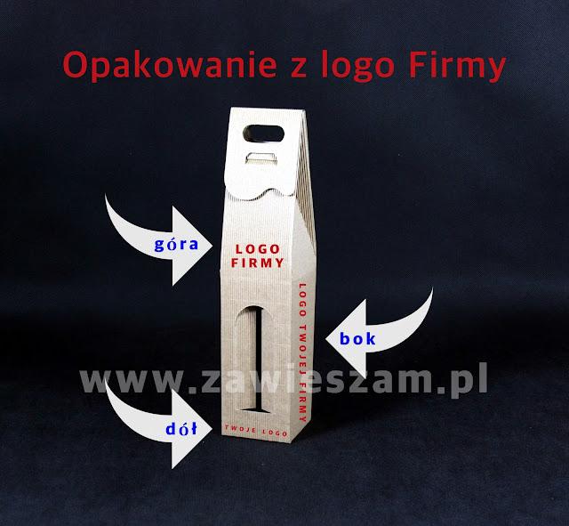 Pudełka kartonowe z nadrukowanym logo