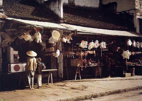 Hà Nội xưa - phố Hàng Gai