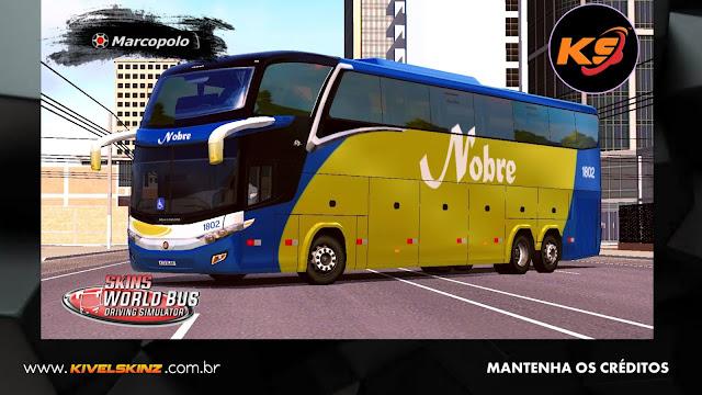 PARADISO G7 1600 LD - VIAÇÃO NOBRE TURISMO