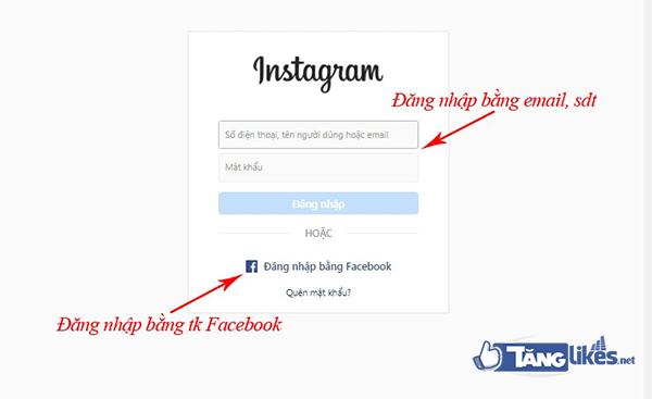 lien ket fanpage & instagram 2