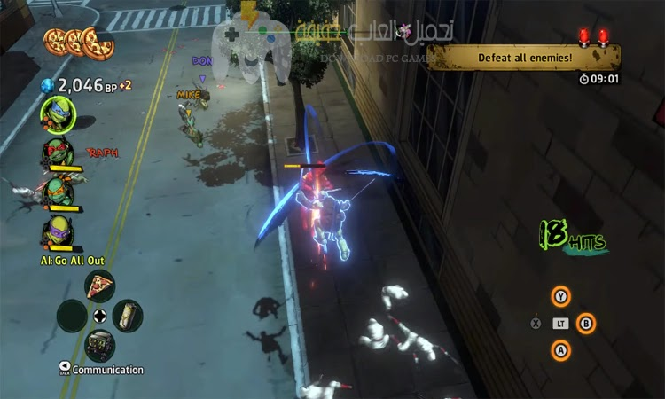 تحميل لعبة TMNT Mutants in Manhattan من ميديا فاير