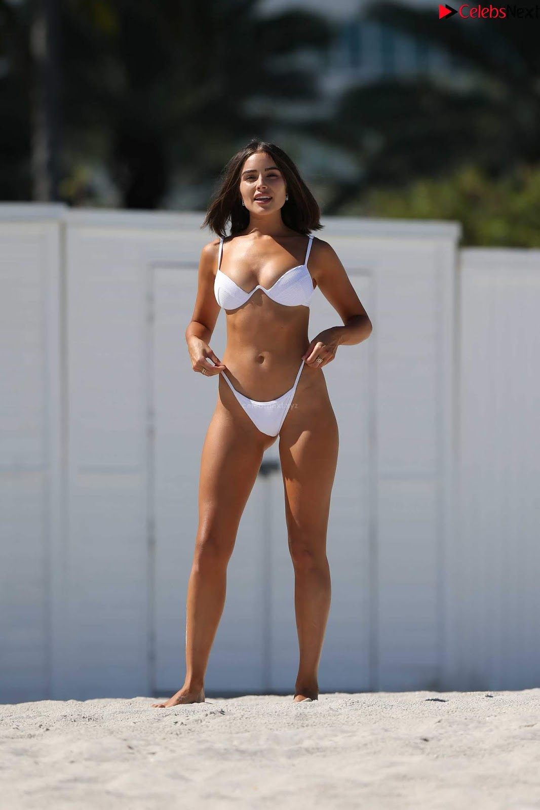 Olivia Culpo sexy smooth ass in Bikini September 2018