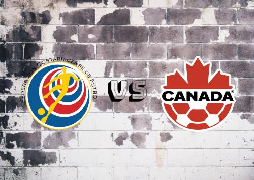 Costa Rica vs Canadá  Resumen