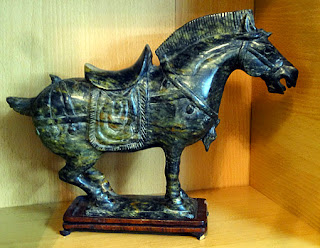 jade horses had their place in Chinese culture