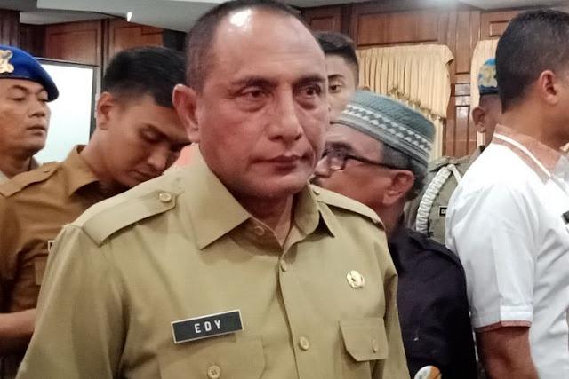 Breaking News, Gubernur Pujaan Umat Edy Rahmayadi Masuk ODP Virus Corona
